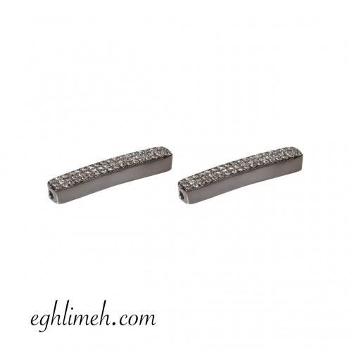 پلاک دستبند استیل RS12  بسته 2 عددی